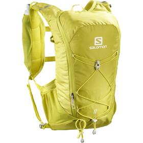 Salomon Agile 12 Backpack Set citronelle/sulphur spring